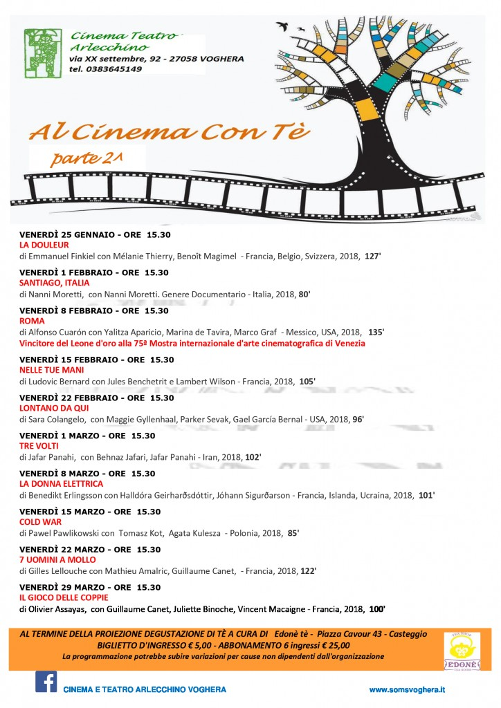 AL CINEMA CON TE' 2018/2019