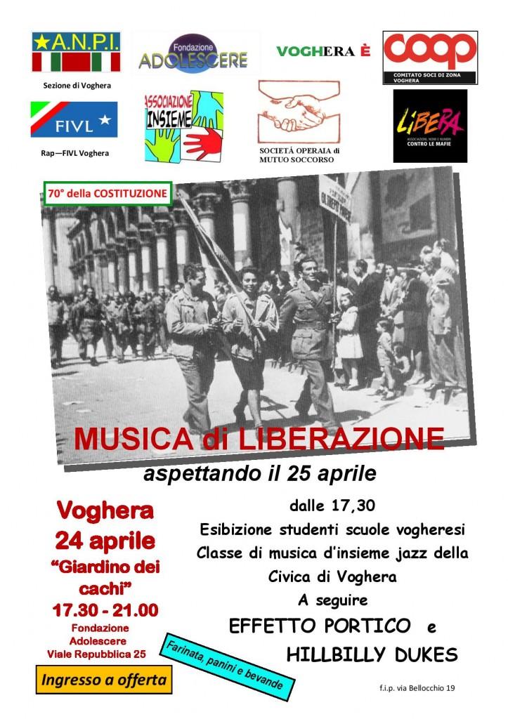 MUSICA DI LIBERAZIONE – aspettando il 25 aprile