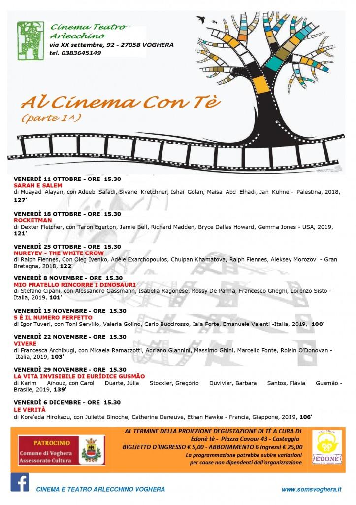 """""""Al cinema con tè"""""""