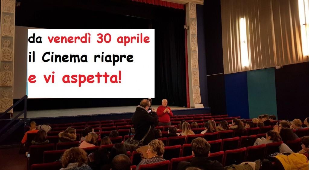 IL CINEMA RIAPRE!